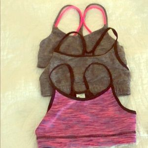 3/$30 Small Girls sport bras-four Small